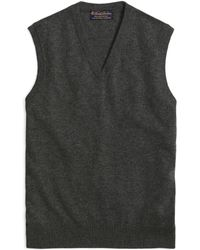 Brooks Brothers | Cashmere Sweater Vest-basic Colors | Lyst