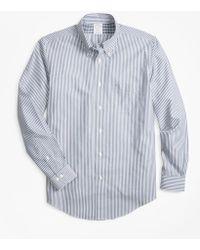 Brooks Brothers - Non-iron Regent Fit Bengal Stripe Sport Shirt - Lyst