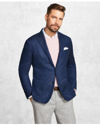 Brooks Brothers - Golden Fleece® Blue Herringbone Sport Coat - Lyst