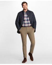 Brooks Brothers - Quilted Walking Coat - Lyst
