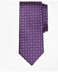 Brooks Brothers | Textured Four-dot Flower Tie | Lyst