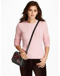 Brooks Brothers - Cable-knit Cashmere Sweater - Lyst