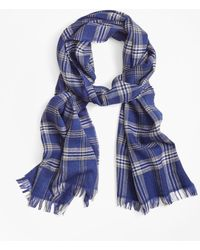 Brooks Brothers - Signature Tartan Scarf - Lyst