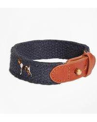 Brooks Brothers - Embroidered Dog Bracelet - Lyst