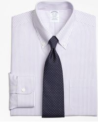 Brooks Brothers - Regent Fitted Dress Shirt, Non-iron Bengal Stripe - Lyst