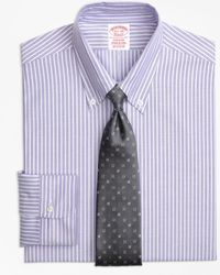 Brooks Brothers - Original Polo® Button-down Oxford Madison Classic-fit Dress Shirt, Ground Stripe - Lyst