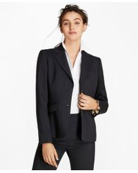 Brooks Brothers - Petite Wool Two-button Jacket - Lyst