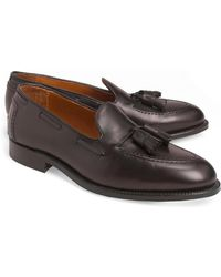 Brooks Brothers - Calf Tassel Loafers - Lyst