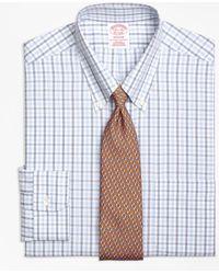 Brooks Brothers - Non-iron Regent Fit Alternating Check Dress Shirt - Lyst