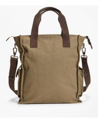 Brooks Brothers - Canvas Tote - Lyst
