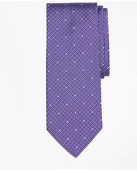 Brooks Brothers - Windowpane Dot Tie - Lyst