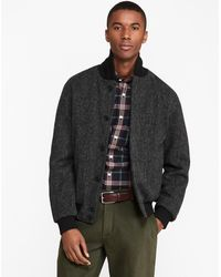 Brooks Brothers - Shetland Wool Bomber Jacket - Lyst