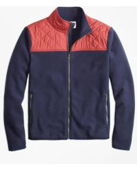 Mens superdry seaking polar fleece jacket