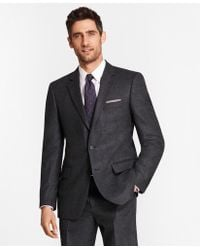 Brooks Brothers - Madison Fit Stretch Flannel 1818 Suit - Lyst