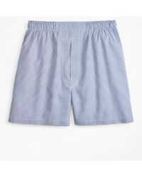 Brooks Brothers - Traditional Fit Gingham Boxers - Lyst