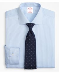 Brooks Brothers - Madison Classic-fit Dress Shirt, Non-iron Mini-double Stripe - Lyst