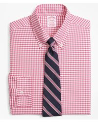Brooks Brothers - Original Polo® Button-down Oxford Madison Classic-fit Dress Shirt, Gingham - Lyst