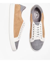 Brooks Brothers - Color-block Suede Sneakers - Lyst