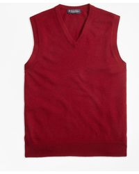 Brooks Brothers - Cashmere Vest - Lyst