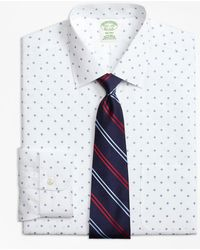Brooks Brothers - Milano Slim-fit Dress Shirt, Non-iron Double Square - Lyst