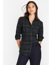 Brooks Brothers - Plaid Cotton Flannel Shirt - Lyst