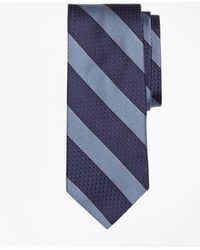 Brooks Brothers - Textured Framed Stripe Tie - Lyst