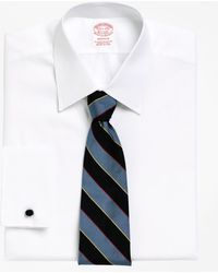 Brooks Brothers - Madison Fit Tennis Collar French Cuff Dress Shirt - Lyst