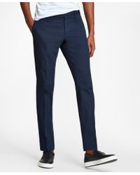 Brooks Brothers - Soho Fit Textured Stretch Chinos - Lyst