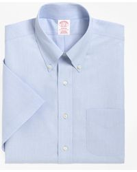 Brooks Brothers - Non-iron Madison Fit Short-sleeve Dress Shirt - Lyst