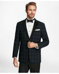 Brooks Brothers - Regent Fit Plaid Seersucker Tuxedo Jacket - Lyst