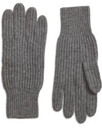 Brooks Brothers - Ribbed Cashmere Gloves - Lyst