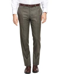 Brooks Brothers - Milano Fit Flannel Trousers - Lyst