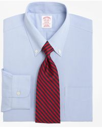 Brooks Brothers - Non-iron Madison Fit Houndstooth Dress Shirt - Lyst