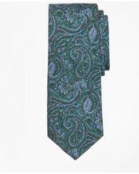 Brooks Brothers - Paisley Print Tie - Lyst