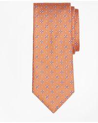 Brooks Brothers | Textured Four-petal Flower Tie | Lyst