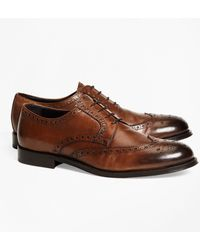Brooks Brothers - 1818 Footwear Leather Wingtips - Lyst