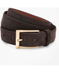 Brooks Brothers - Suede Dress Belt - Lyst