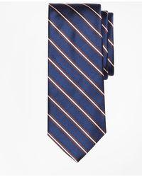 Brooks Brothers | Split Stripe Tie | Lyst