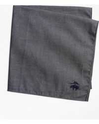 Brooks Brothers - Cotton Pocket Square - Lyst