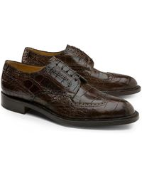 Brooks Brothers | Genuine American Alligator Lace-up Wingtips | Lyst