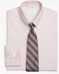 Brooks Brothers - Milano Fit Original Polo® Button-down Oxford Stripe Dress Shirt - Lyst