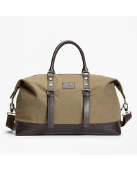 Brooks Brothers - Canvas Duffle Bag - Lyst
