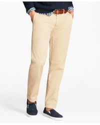 Brooks Brothers - Slim Fit Garment-dyed Chinos - Lyst