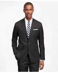 Brooks Brothers - Milano Fit Solid 1818 Suit - Lyst
