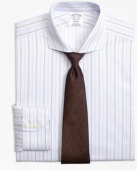 Brooks Brothers - Madison Classic-fit Dress Shirt, Non-iron Double Alternating Stripe - Lyst