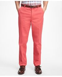 Brooks Brothers | Clark Fit Supima® Cotton Stretch Chinos | Lyst