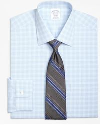 Brooks Brothers - Regent Fitted Dress Shirt, Non-iron Tonal Glen Plaid - Lyst