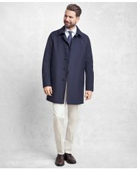 Brooks Brothers - Golden Fleece® Laser Cut Seamless Trench - Lyst