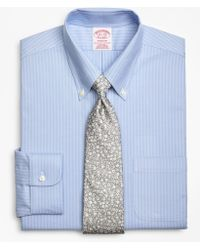 Brooks Brothers - Brookscool® Madison Classic-fit Dress Shirt, Non-iron Ground Double-stripe - Lyst