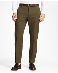 Brooks Brothers - Milano Fit Supima® Cotton Stretch Chinos - Lyst